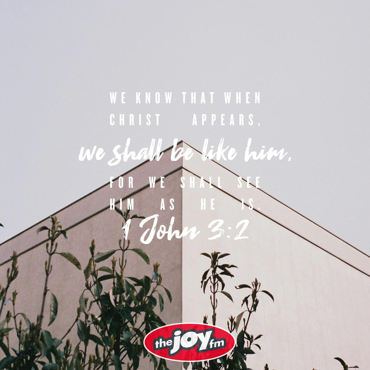 1 John 3:2 - Verse of the Day