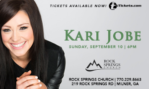 Kari Jobe Concert at Rock Springs Church