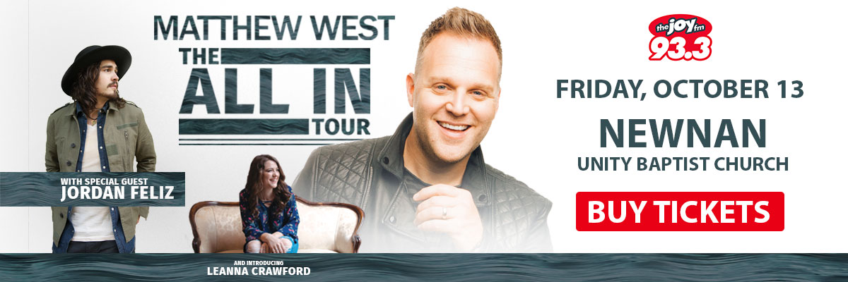 Matthew West - All In Tour