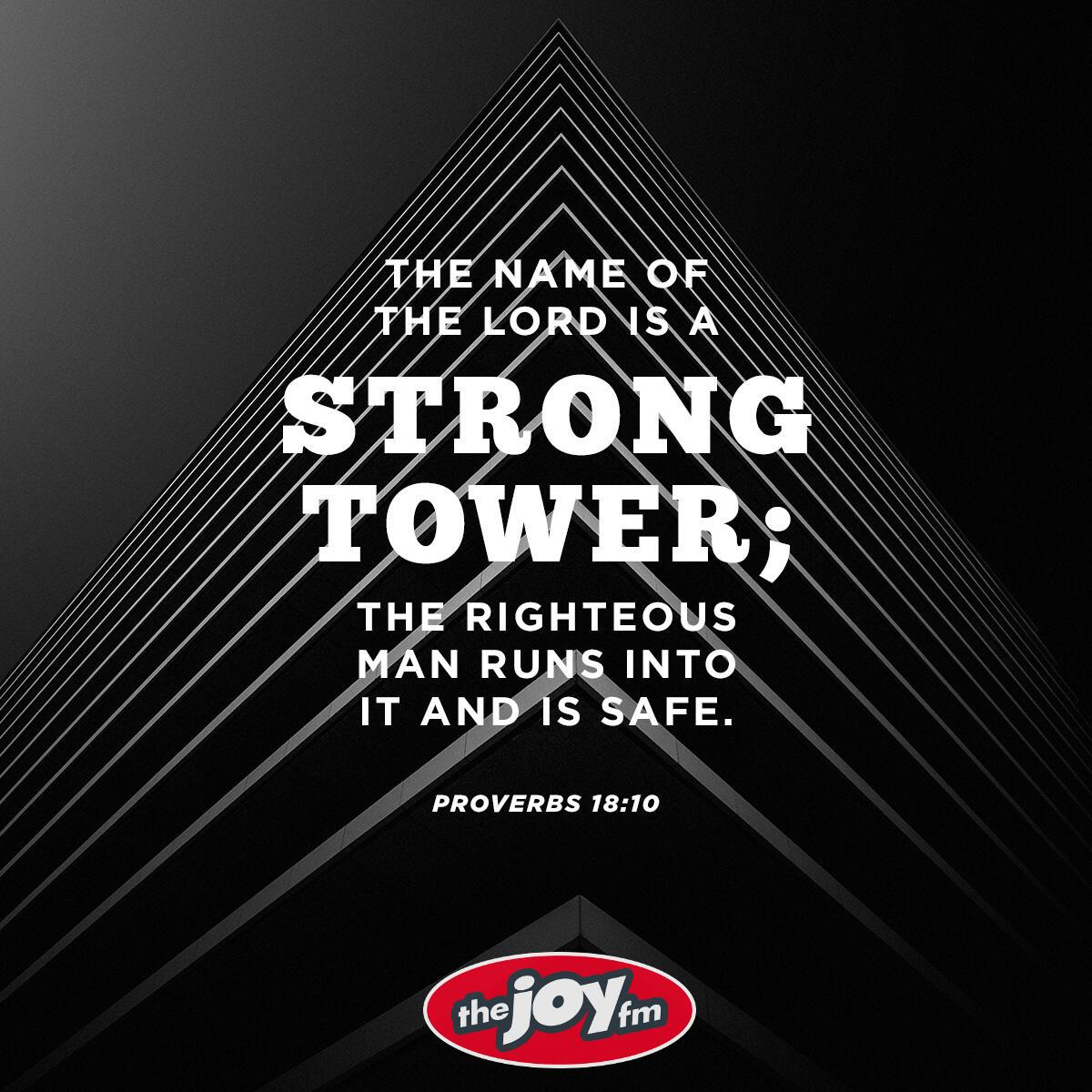 Proverbs 18:10 - Verse of the Day