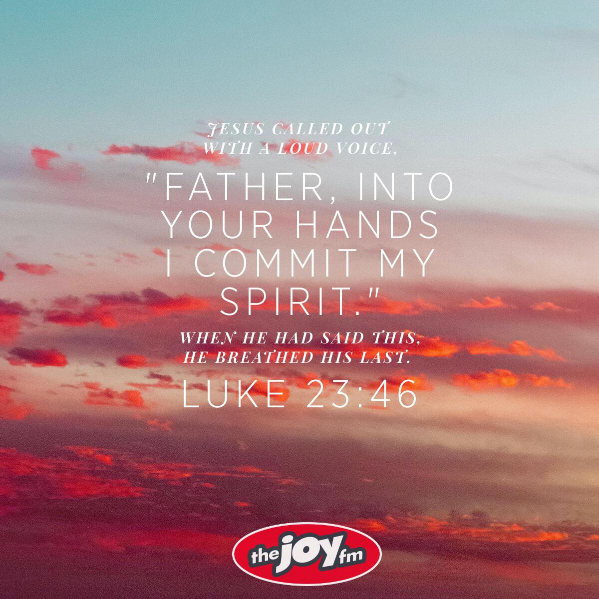 Luke 23:26 - Verse of the Day