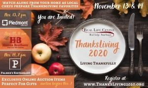 The Real Life Center Presents ThanksLiving