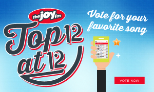 The JOY FM's Top 12 @ 12