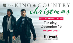 for KING & COUNTRY Christmas
