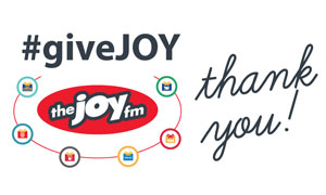 #giveJOY Gift Cards
