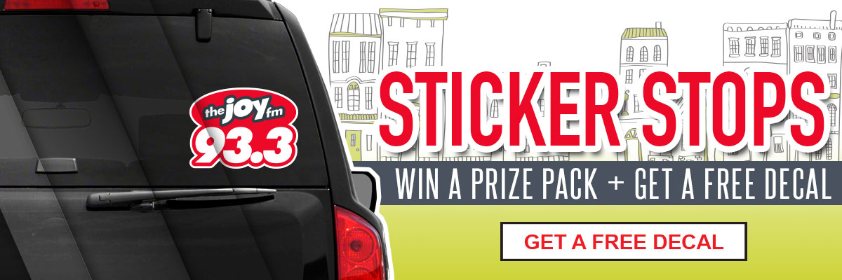 Duplicate of Win a prize pack + get a free decal!